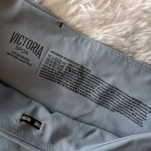 Victoria's Secret Pants & Jumpsuits - Knockout Tights in Seaview Blue